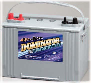 Deka 8g27 8g27m Gel Battery